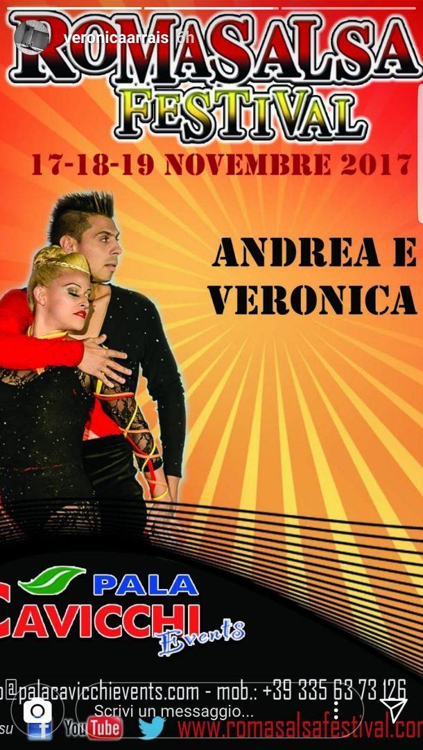 andrea y veronica Roma Salsa Festival