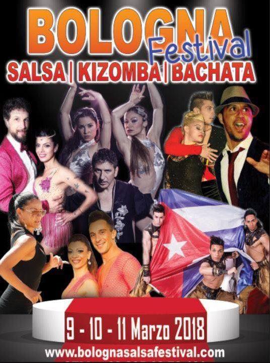 andrea y veronica Bologna Festival Salsa Bachata Kizomba