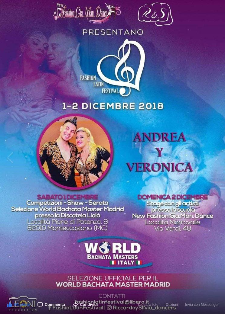 fashion latin festival 2018 andrea y veronica